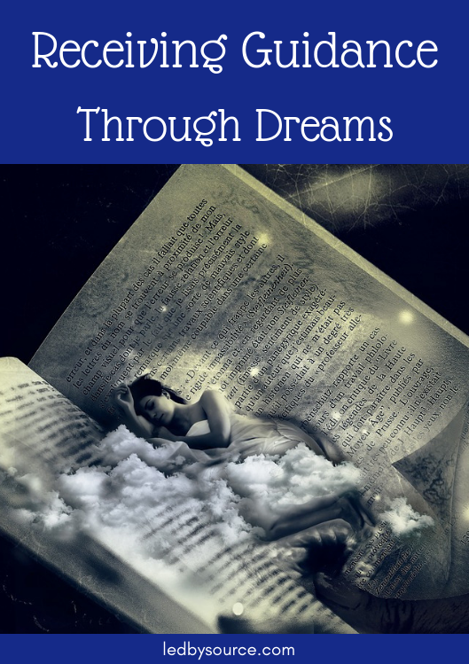 receiving guidance through dreams