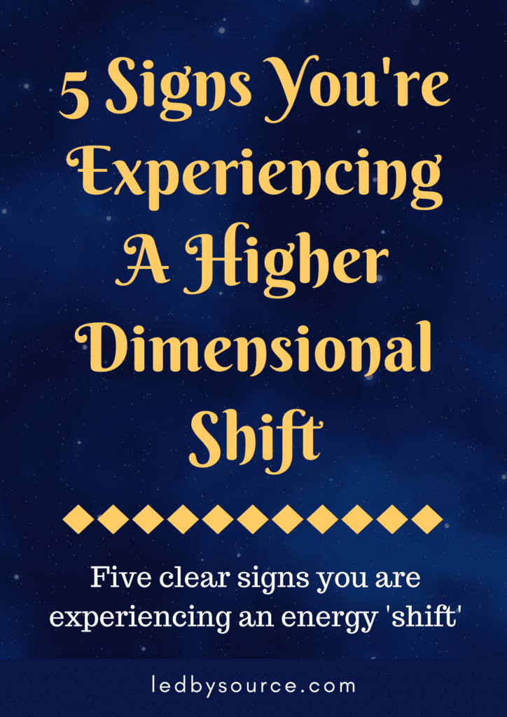 Higher Dimensional Shift